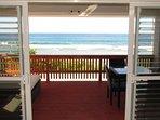Ocean View from your bed at Ocean Breeze Villa