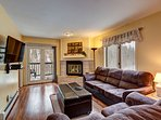 Woodbridge Inn Condo Living Area Frisco Lodging Vacation Rental