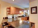 Woodbridge Inn Condo Kitchen Area Frisco Lodging Vacation Rental