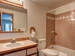 Woodbridge Inn Condo Master Bathroom Frisco Lodging Vacation Ren