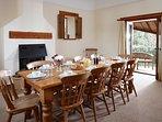 Elm Barn, dining room