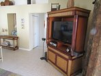 """48"""" HDTV with good cable package and Bose Sound System."""
