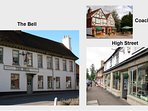 The Coach House, The Bell & the High St