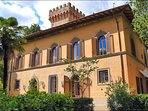Romantic villa in the Chianti area, near Florence