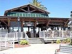 'Cas Cay' Bar/Restaurant... overlooks the marina... Great food & Drink