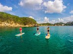 Playa Santa Cruz - try some Stand up Paddle boarding
