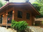 2 Bedroom Cottage includes 2 pillowtop queen bedrooms, bath and large closet