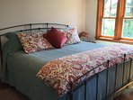 Bedroom with king-size bed. All linens provided.