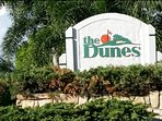 The Dunes is a beautiful neighborhood around golf course, close to beaches, shops & restaurants.