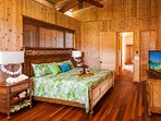 Guest bedroom #2 with ocean views and king bed