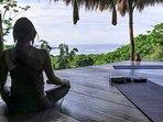 yoga centres abound
