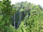 Local waterfalls