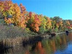 Ausable River in fall