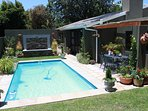 Lovely Heated Pool in private garden