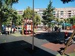 10 minutes walking from the children's recreational area (swings ...) in Parque de la Alamedilla