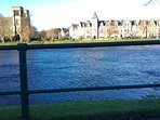Views of River Ness from directly across from property