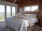 Master bedroom - above the rain forest