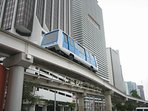 Metromover to move around the city center. Free