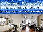 New York Area Modern 2 Bedroom Suites