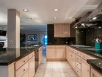 Use the fully equipped kitchen to prepare your favorite recipes.