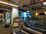 Work it out in the community fitness center!