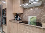 Beautifully finished kitchen with all applicances