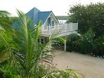 Cayman Cottage by the Sea   Literally steps away from a beautiful, white-sand beach.