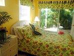 Master Bedroom overlooking Patio