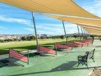 The golf driving range