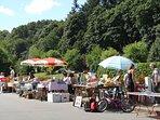 Flea market on July 14th