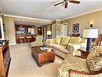 An expansive 2 bedroom suite featuring 1315 sq. ft. of interior living area