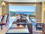 Boasting stunning ocean views from every room
