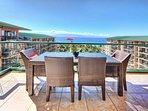 With views of Maui's neighbor island of Lanai
