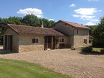Gite de Rimbard, 2 bedroomed holiday cottage in the grounds of Rimbard Manor