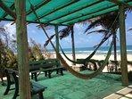 Mirante  ao lado da barraca de praia