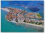 Grado, a beach only 20 min. from casa Artuico, with lovely historical center and beautiful laguoon