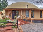 Have a one-of-a-kind getaway when you book this recently remodeled, unique Sedona vacation rental dome home!