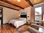 Beautiful wooden floors, rustic decor and furnishings