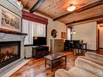 The Classic Condo offers this stylish accommodation with stunning views over magnificent Lac Taureau