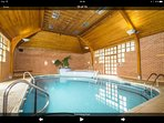 Complimentry Residents private heated pool open early till late daily with showers, jacuzzi, sauna