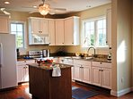 Gourmet Granite Kitchen with Island