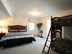 Deluxe King Suite with Bunk Beds - Upper Level