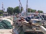 Aegina's traditional fishing boats