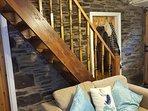 Stairs/ door to 3rd bedroom