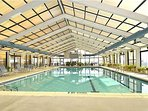 Indoor heated swimming pool open year around