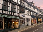 So many independent shops in Shrewsbury, wonderful for a day of exploring, with many boutique cafes.