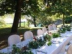 Small wedding in the garden