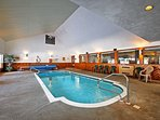 Splash around in the clubhouse pool for a small additional fee.