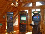 Free play arcade games! Racing, Hunting, Football, Multicade Games, and a Poker table with seats!
