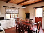 Steenbok Self Catering Cottage - Dining, Kitchen